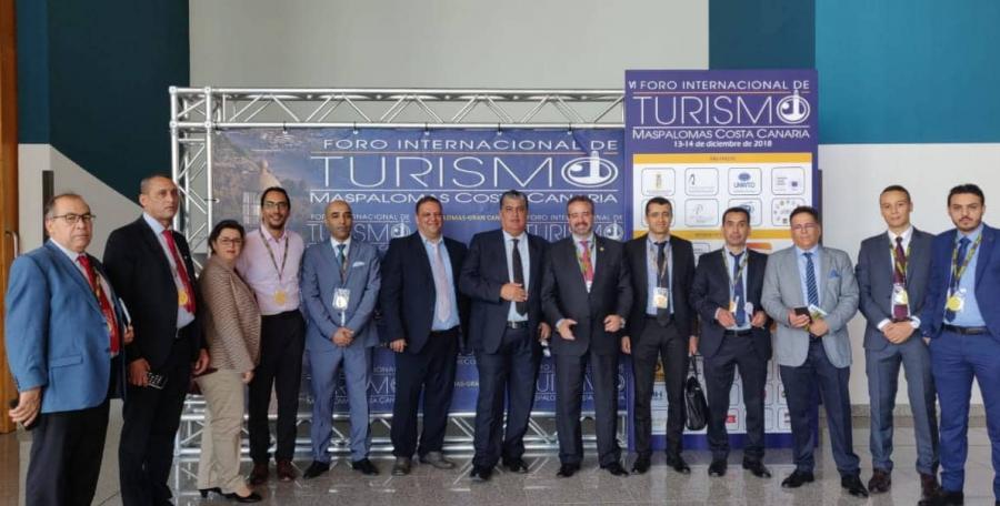 a conférence internationale sur le tourisme à Maspalomas